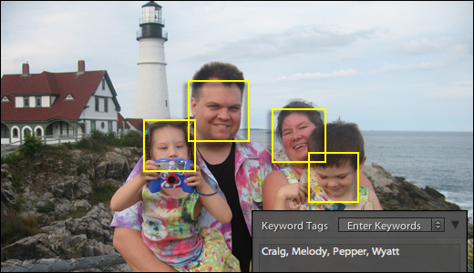 Lighroom Face Recognition for free