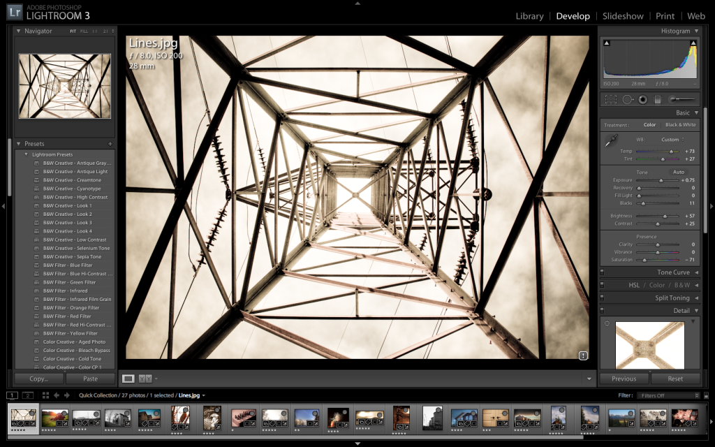 Free Lightroom 3 Presets, from Rule of Thirds Photography