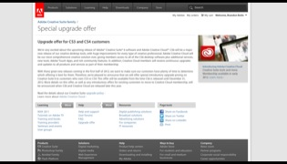 Adobe CS6 Upgrade Options